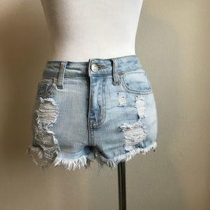 Altar'd State Denim Cutoff Shorts